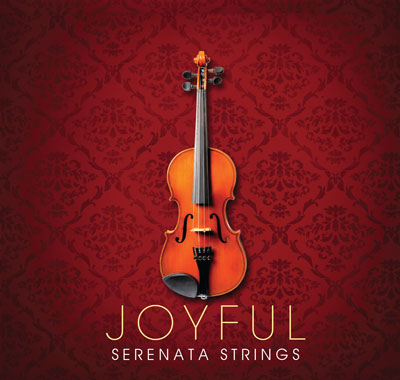 Serenata Strings Christmas CD, Front Cover #1