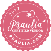 Praulia Certified Vendor Badge
